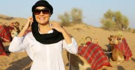 Adriana Esteves viagem Dubai Babilônia (Foto: GShow/ Rede Globo)