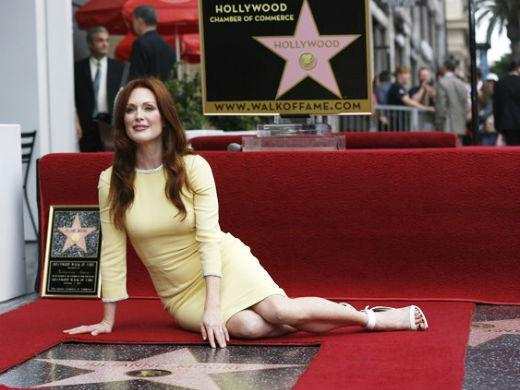 Julianne Moore Calçada da Fama Hollywood