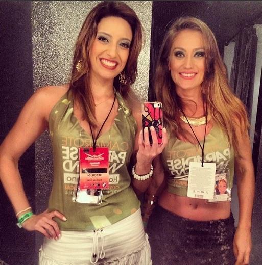 Ana Paula Torquetti e Agda Queiroz no Carnaval (Foto: Reprodução/ Instagram)