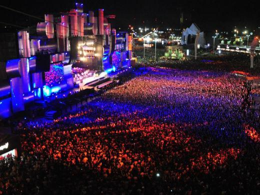 Rock in Rio 2015 shows palco