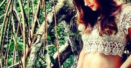 Gravidez de Fernanda Machado entra no sétimo mês e a atriz admite ansiedade para o nascimento