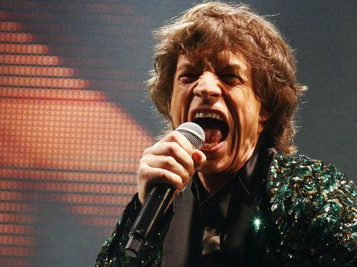 Mick Jagger Rolling Stones show