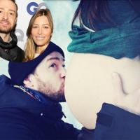Bebê Silas Randall é filho de Jessica Biel e Justin Timberlake; mamãe e criança passam bem