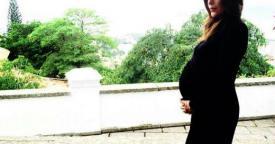 Carolina Ferraz grávida barrigão barriga (Foto: Reprodução/ Instagram)
