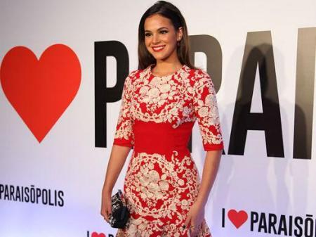 Vestido Dolce e Gabbana de Bruna Marquezine