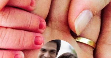 Filho de Mateus Solano e Paula Braun nasceu no dia primeiro de maio, no Rio de Janeiro