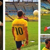 Fotos de Rodrigo Santoro e Antonio Banderas no Maracanã ganham destaque e fãs aguardam longa