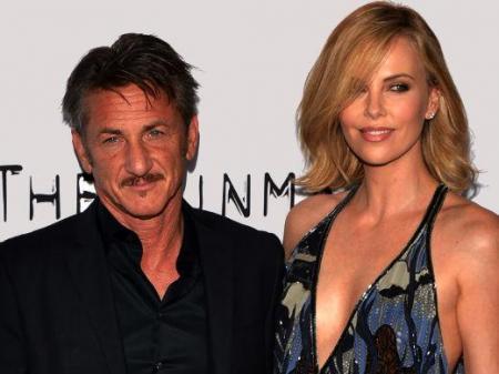 Sean Penn e Charlize Theron noivado casamento separação
