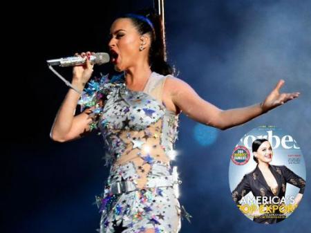 Katy Perry Forbes mais rica milionária