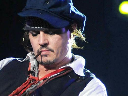 Johnny Depp show Hollywood Vampires Rock in Rio 2015