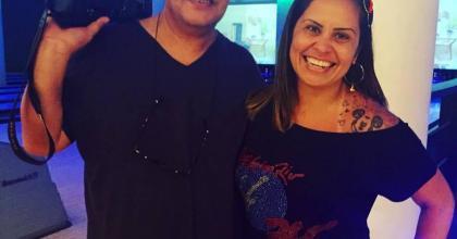 Eu e Gilberto Freitas fizemos parte do Time da Imprensa 2015 no evento de Carmem Alvim em São José dos Campos - SP