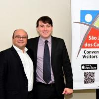 O Encontro discute soluções para o turismo na cidade sob o comando do Presidente do Convention de São José dos Campos = Ricardo Sampaio