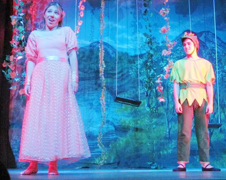 Peter Pan teatro colinas teatro infantil crianças filhos