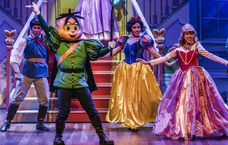 Turma da Mônica em: Era uma Vez uma História de Príncipes e Princesas teatro infantil