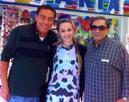 Yasmim Santana e Dedé Santana
