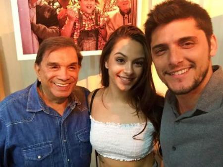 Yasmim Santana Bruno Pigossi e Dedé Santana