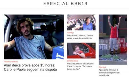 BBB 19 UOL Big Brother Brasil