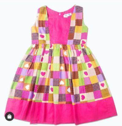 Vestido de festa junina Duas Pequeninas