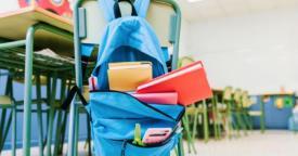 Crianças pequenas passam por um período de adaptação na escola, a adaptação escolar