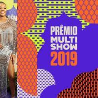 Veja a lista com os vencedores do Prêmio Multishow 2019; estrelas da nossa música