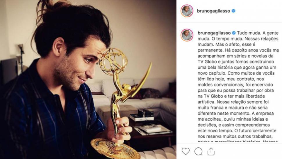 Bruno Gagliasso contrato Globo salário