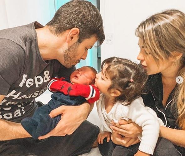 José nasceu bebê filho Kelly Maria e Jonas Almeida