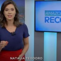 Natália Teodoro ganhou fama como apresentadora da TV Vanguarda