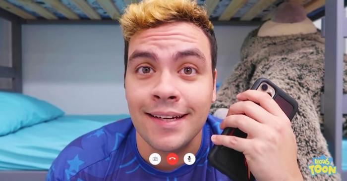 Luccas Neto e o seu canal Luccas Toon no YouTube
